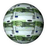 Euro Sphere Royalty Free Stock Photography