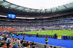 Euro 2016 Stade De France Stadium Royalty Free Stock Images
