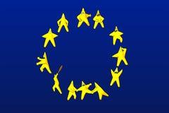 Euro stelle Fotografie Stock