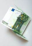Euro still life Stock Images
