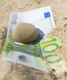 euro sto Zdjęcia Royalty Free