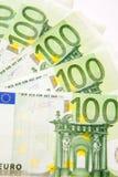 euro sto jeden Zdjęcia Royalty Free