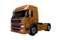 Euro Style Tractor Truck Stock Photography