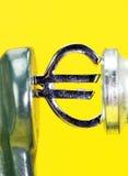 Euro Sunset Stock Photo