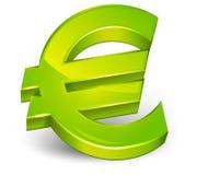 Euro symbol. Isolated on a white background,  illustration Royalty Free Stock Image