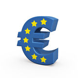 Euro symbol Royalty Free Stock Photography