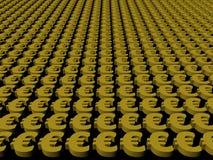 Euro symbol background Royalty Free Stock Image