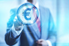 Euro symbol concept Royalty Free Stock Image