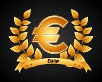 Euro symbol Royalty Free Stock Photography