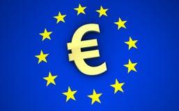 Euro Symbol European Union Royalty Free Stock Photography