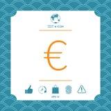 Euro symbol icon. Element for your design Stock Photo