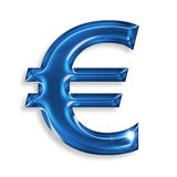 Euro symbol Stock Photography