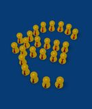 Euro symbol Royalty Free Stock Photos