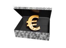 Euro symbol in a Numeric Box Stock Images