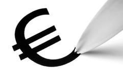 Euro symbole Image libre de droits