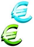 Euro symbols Stock Photo