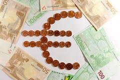 Euro symbool Stock Afbeelding