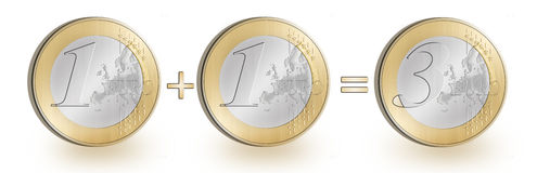Euro Synergy Royalty Free Stock Image