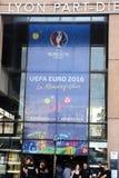 Euro 2016 sztandar Fotografia Royalty Free