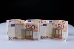 Euro tło zdjęcie stock