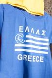 Euro T-shirt grec Photographie stock