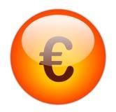 Euro tasto Fotografia Stock
