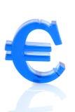 Euro teken Royalty-vrije Stock Foto