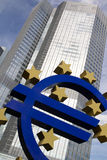 Euro Teken Royalty-vrije Stock Foto's