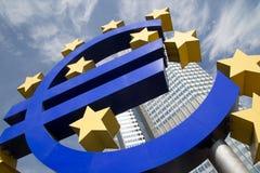 Euro Teken Stock Afbeeldingen