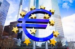 Euro teken Stock Afbeelding