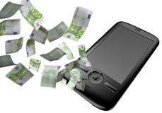 euro telefon komórkowy Obraz Royalty Free