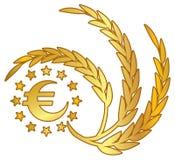 Euro- tema Fotografia de Stock Royalty Free