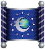 euro temat Zdjęcia Stock
