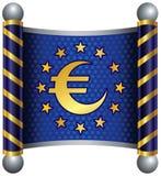euro temat Obraz Royalty Free