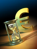 Euro time Stock Image