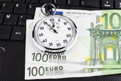 Euro Time Royalty Free Stock Photos