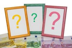 Euro trames Photographie stock libre de droits