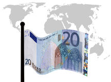 Euro troubles Royalty Free Stock Image