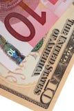 Euro und Dollar Lizenzfreie Stockfotos