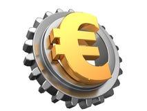 Euro- und Gangrad Stockfotos