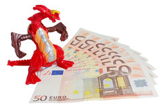 Euro Under Attack Stock Photography