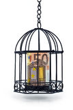 EURO UNDER RESTRICTIONS 2 Royalty Free Stock Image