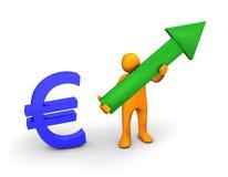 Euro Up Royalty Free Stock Photo