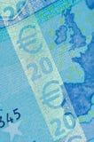 euro uwypukla ochronę Fotografia Royalty Free