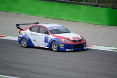Euro V8 Series Lexus ISF driven at Monza Stock Photography