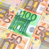 Euro valuta Immagine Stock Libera da Diritti