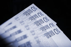 Euro valuta Fotografie Stock