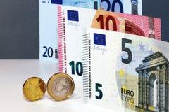 Euro valuta Immagine Stock