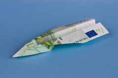 Euro vechter Royalty-vrije Stock Foto