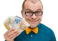 Euro vincitore del premio Immagine Stock